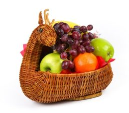 Produce Deer Basket 13ct