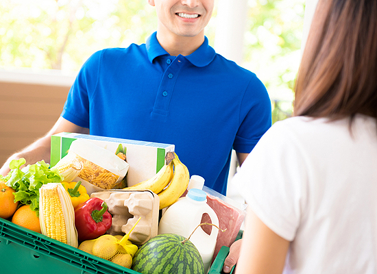 home delivery groceries Peoria IL