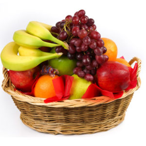 Produce Basket 30ct w/ a Dark Basket