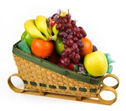 Produce Sleigh Basket 21ct
