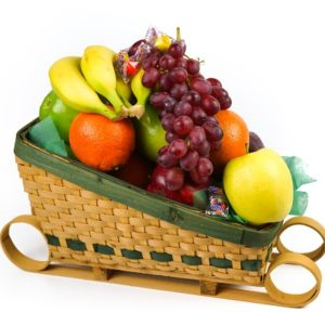 Produce Sleigh Basket 21ct
