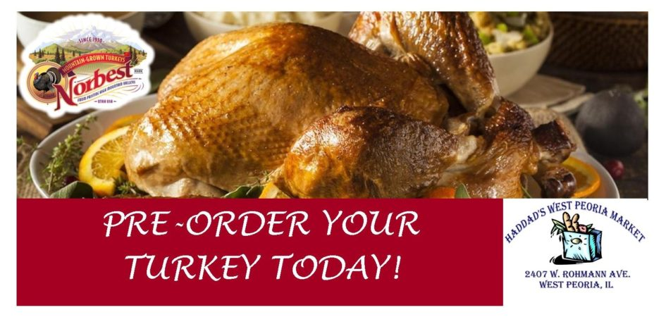 Thanksgiving Orders